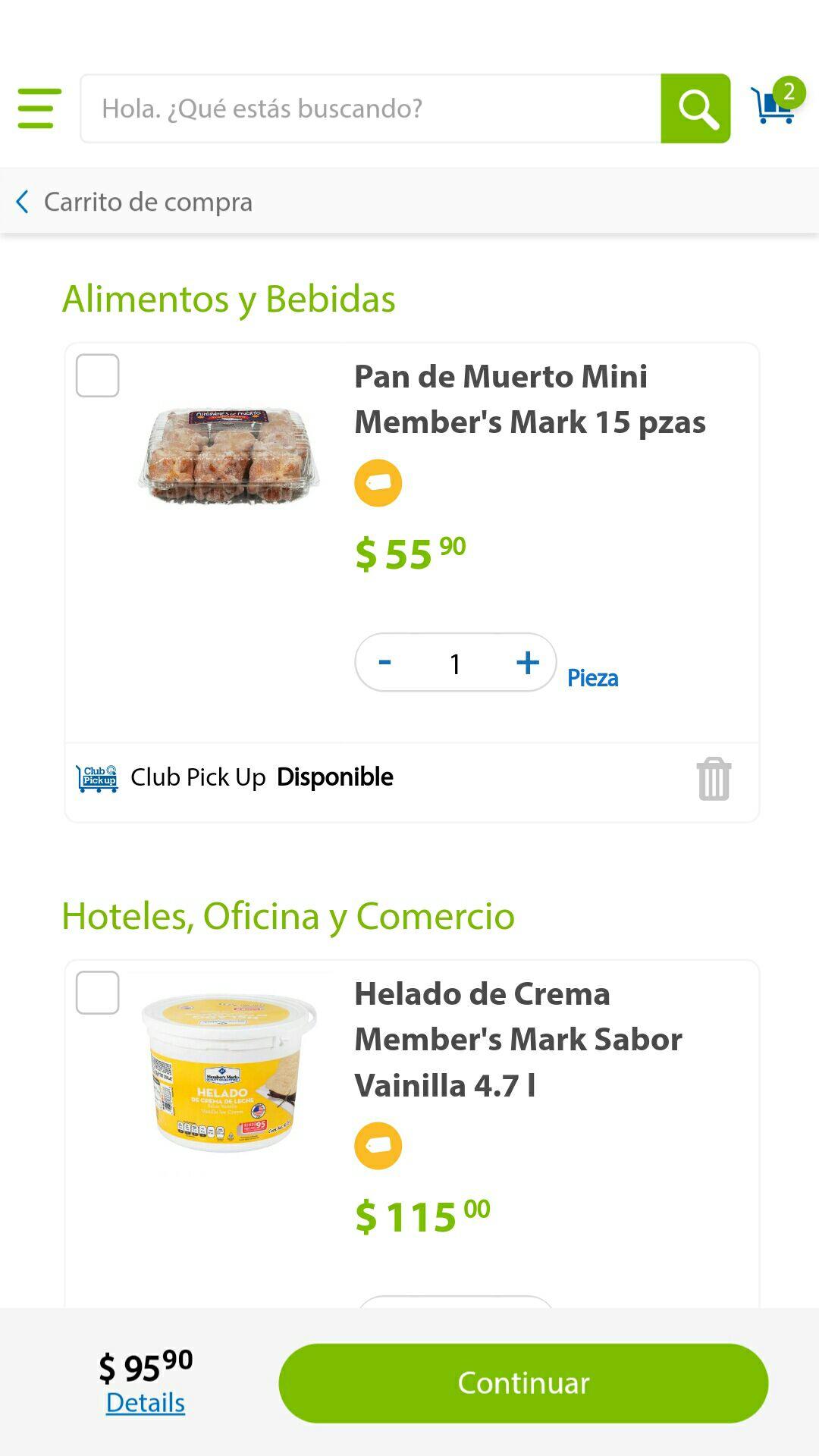 Sam's Club: 15 mini pan de muerto y helado vainilla 4.7 litros ahorra $75