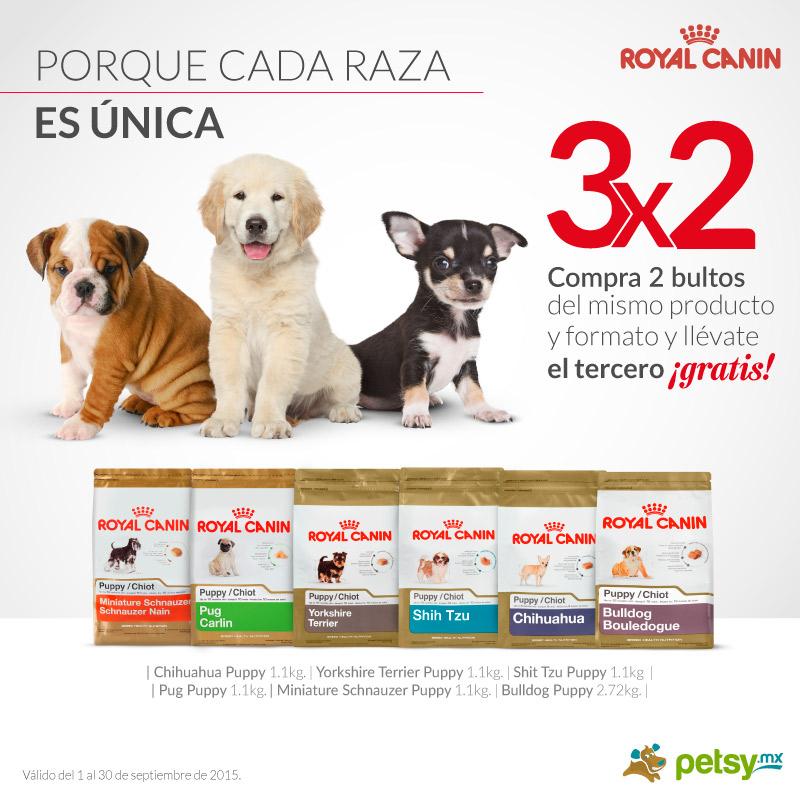 Petsy: 3x2 En ROYAL CANIN