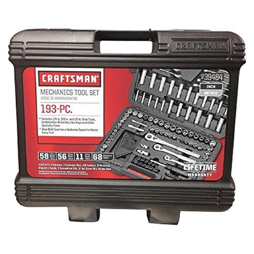 Amazon: Set de 193 herramientas Crafstman a excelente precio.