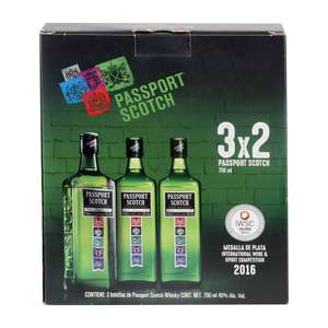 SAMS | Whisky Passport Scotch 3 pzas de 700 ml