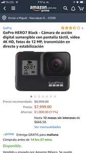Amazon: GoPro hero 7 Black