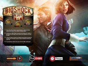 Juego Bioshock Infinite a 1 dólar (digital para PC)
