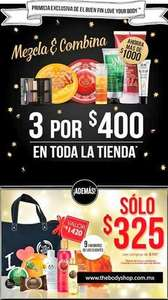 Ofertas del Buen Fin 2013 en The Body Shop, L'Occitane, Yves Rocher y más