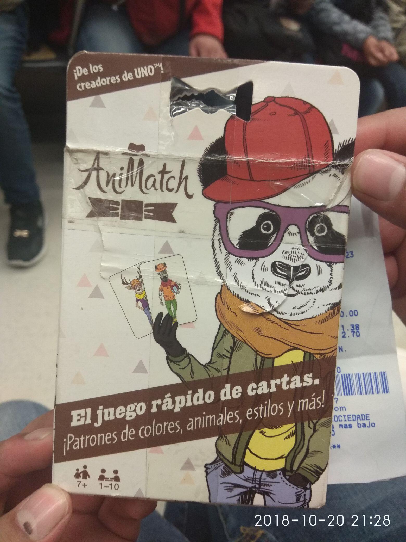 Bodega Aurrerá: UNO ANIMATCH a $10.01