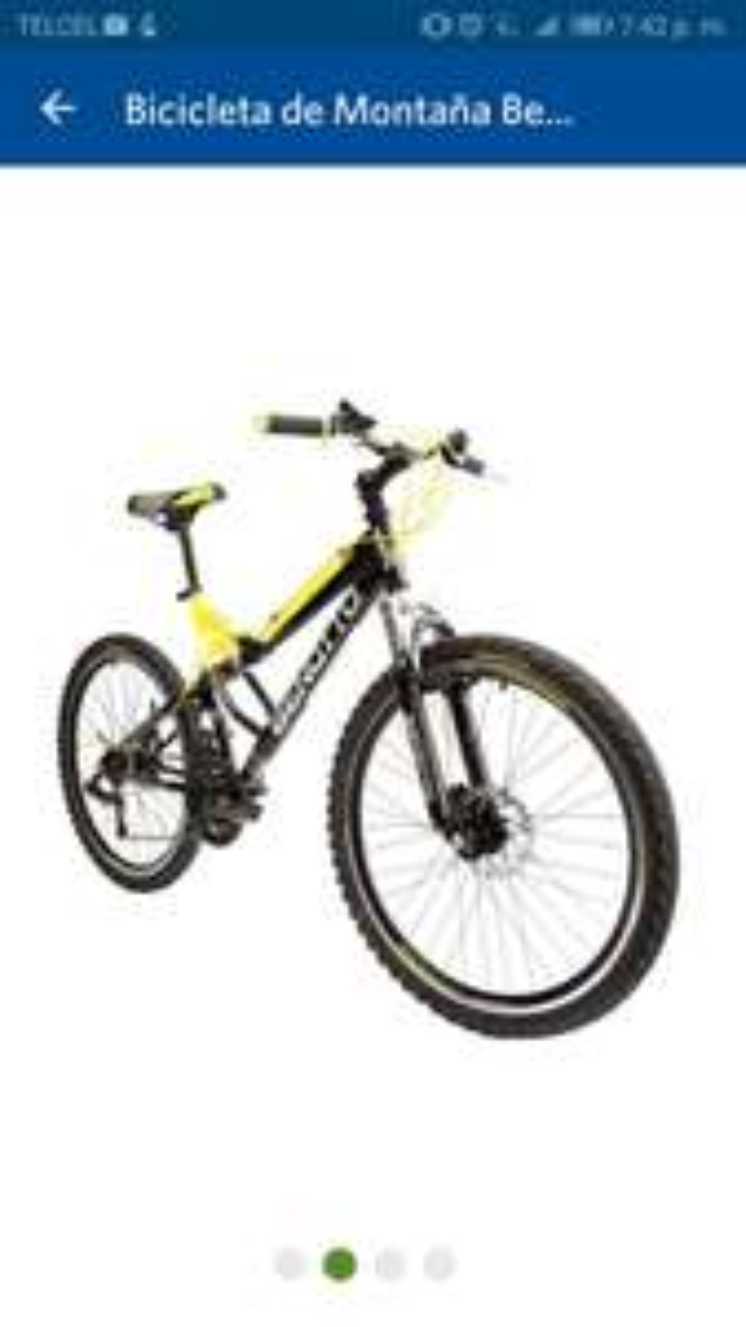 Sam's Club: Bicicleta Benotto Navy R26.