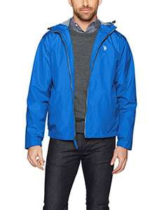 Amazon: U.S. Polo Assn - chamarra térmica Windbreaker (Hombres Talla 2X Plus)