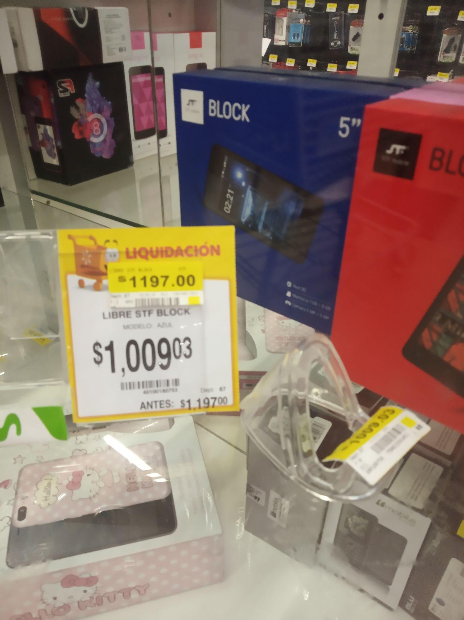 Walmart: Celular STF Block