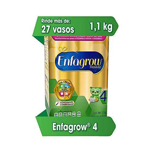 Amazon: Enfagrow 4, para Niños Mayores de 3 años, 1.1 kg
