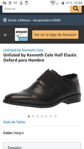 Amazon: Unlisted by Kenneth Cole Half Elastic Oxford para Hombre
