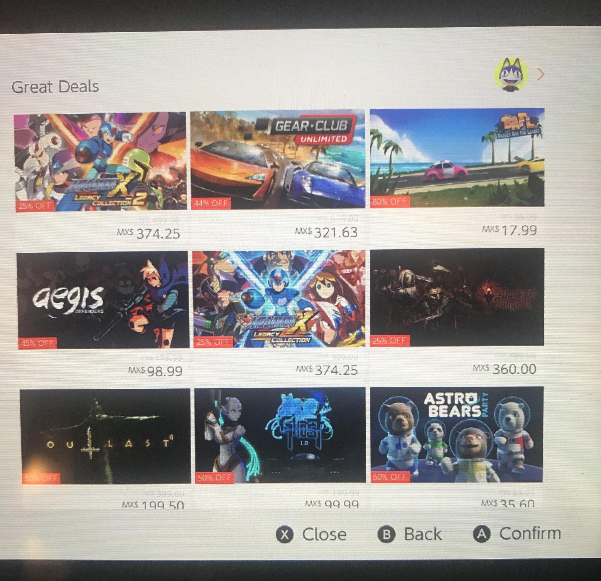 Nintendo eShop: Shantae al 20% y 30%, Megaman X al 25% de descuento