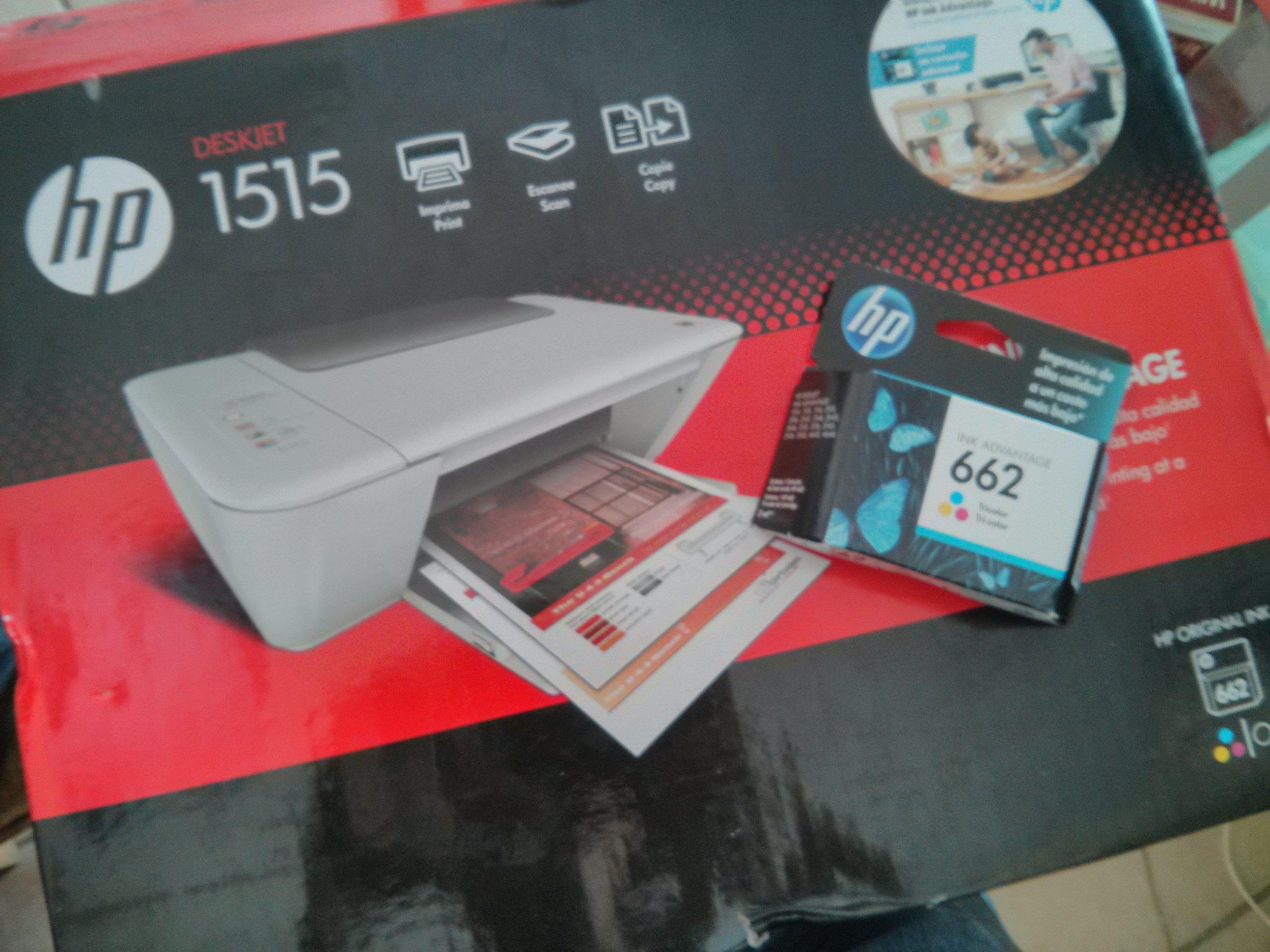 Bodega Aurrerá: impresora HP Deskjet 1515 $690