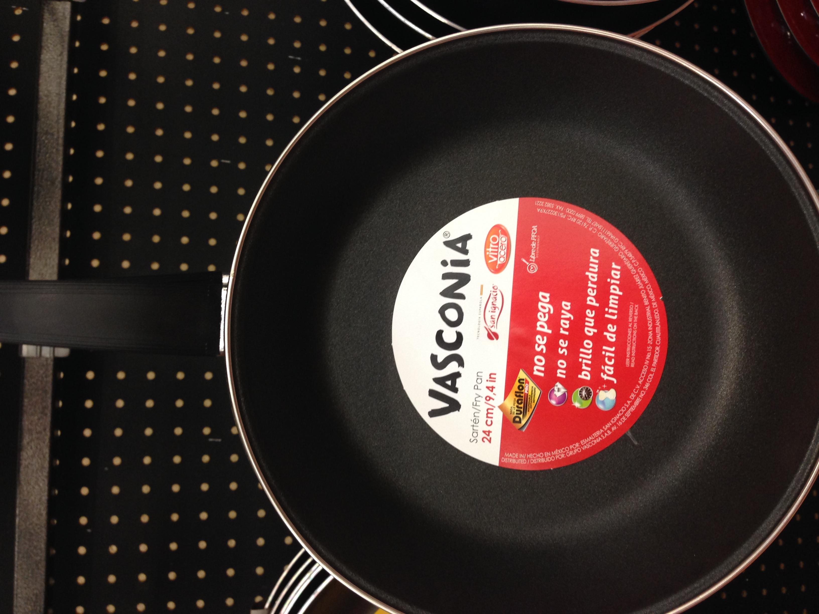 Walmart: sarten/Fry Pan marca vasconia de 24cm en $55