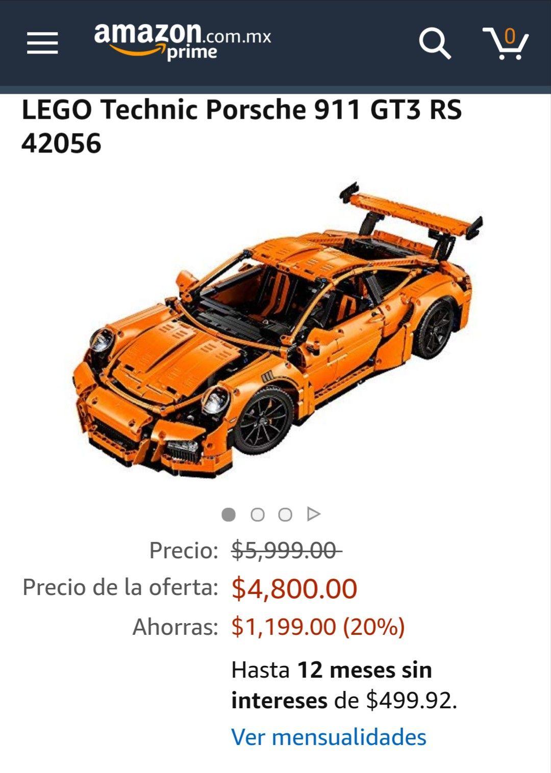 Amazon: LEGO Technic Porsche