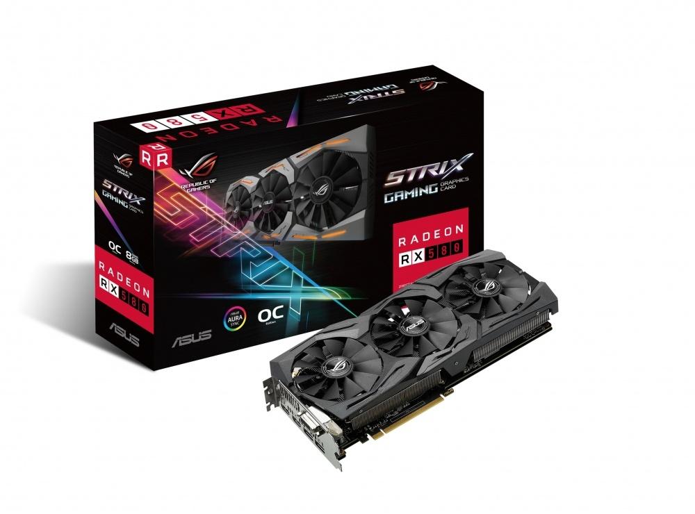 Cyberpuerta: Tarjeta de Video ASUS AMD Radeon RX 580