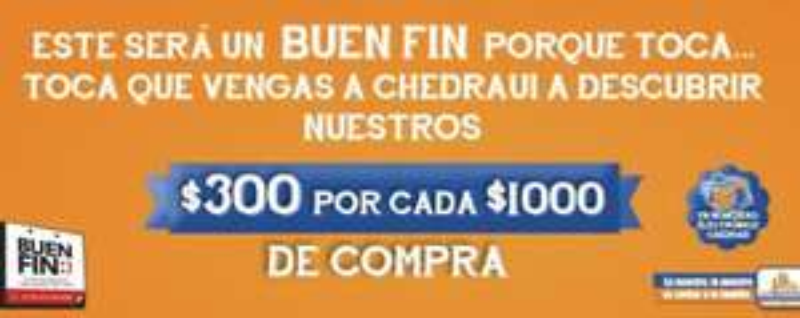 Ofertas del Buen Fin 2013 en Chedraui (actualizado)