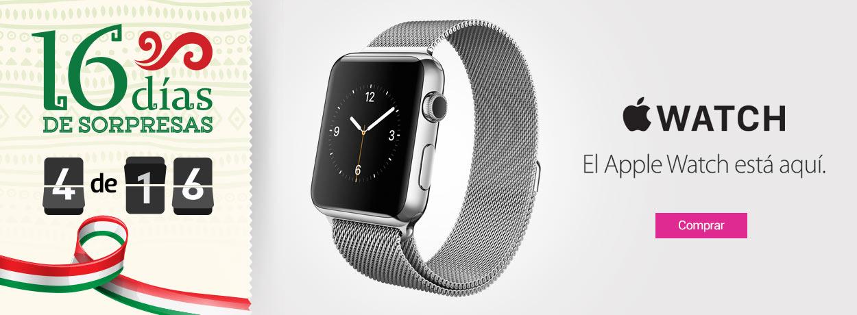 16 Días de Sorpresas en Liverpool.com.mx día 4: Apple Watch