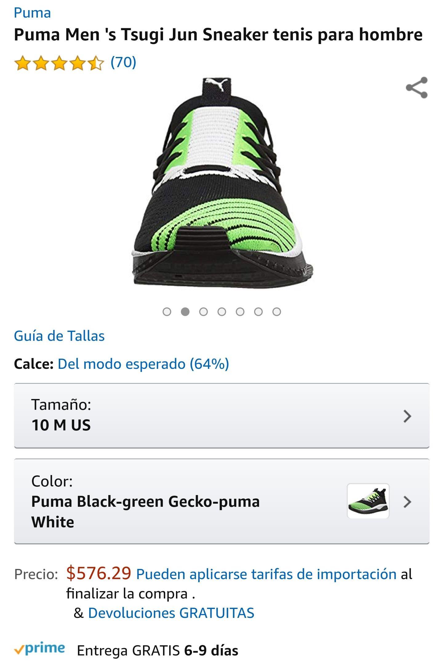 Amazon: Tennis Puma Tsugi Jun (10US)