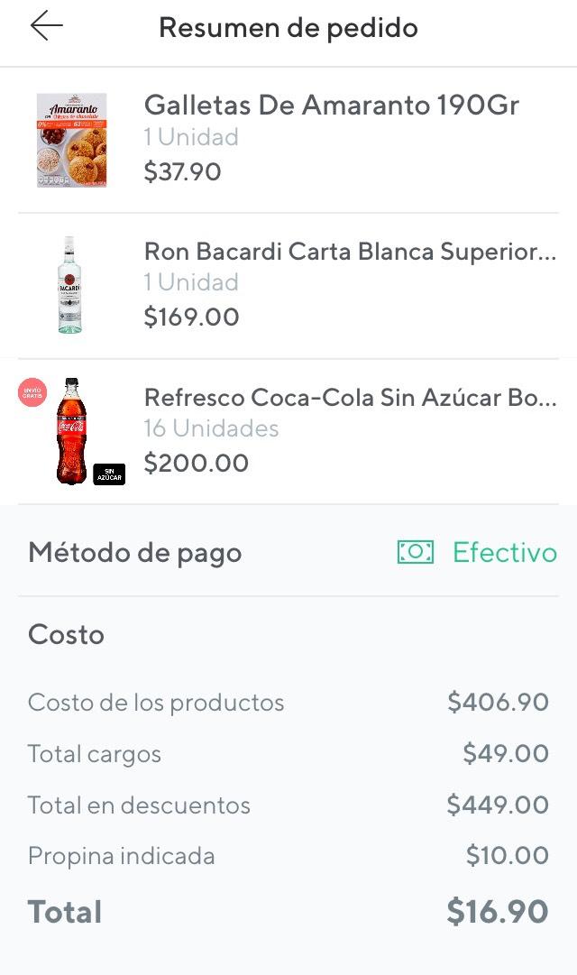 Rappi: $200 de descuento ($400 aprovechando bug)