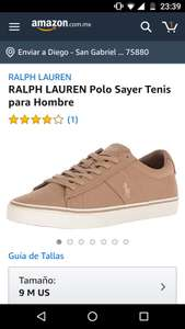 Amazon: Tennis polo Ralph Lauren (9US)
