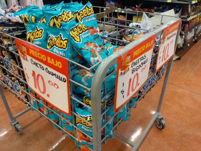 Walmart: Cheetos Bigochos y acaramelados