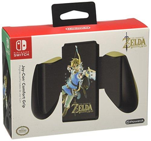 Amazon: Power A PWA-A-01693 Joy-Con Comfort Grip Zelda for Nintendo Switch