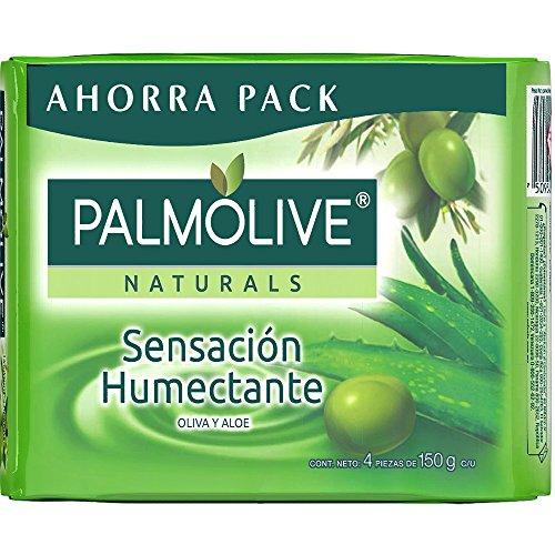 Amazon: Jabón Palmolive 4 pack Aloe y Oliva 150g, otros aromas a $38-$45