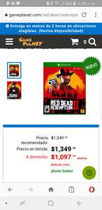 Game planet: Red Dead Redemption 2