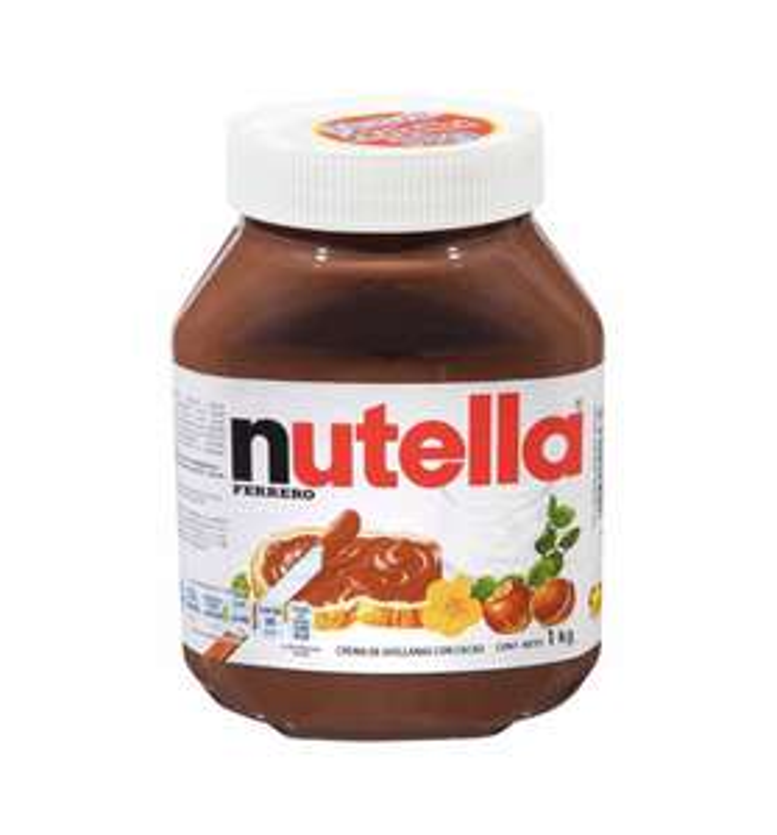 Sam's Club: Crema de Avellana Ferrero Nutella 1 kg