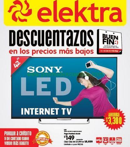 Ofertas del Buen Fin 2013 en Elektra