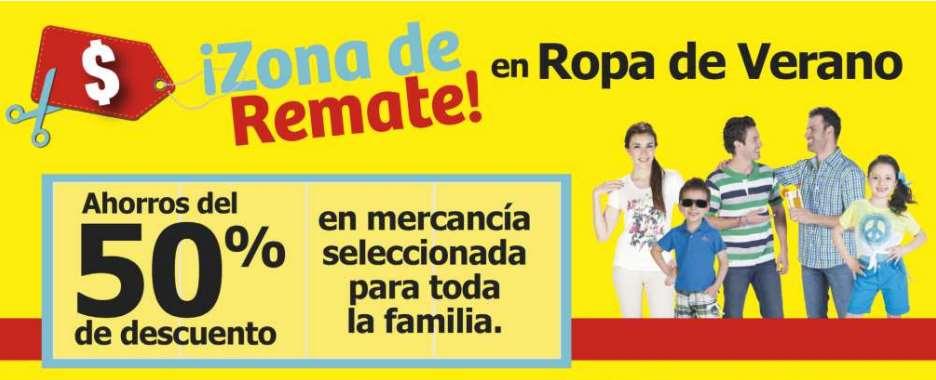 Soriana: remate de ropa de verano (50%), 2x1 y medio en juguetes de imp y licores