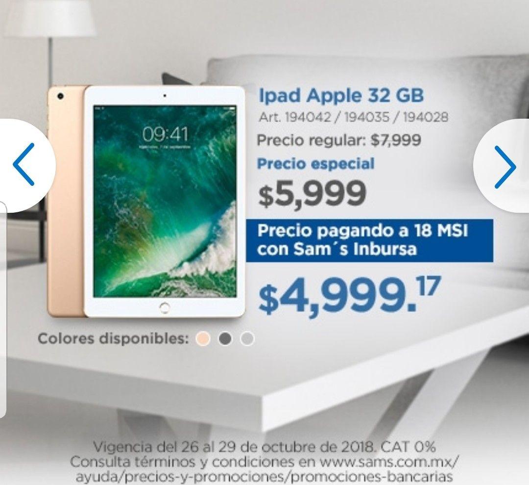Sam's Club: iPad a9 9.7 32gb