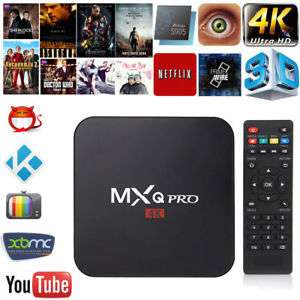 ebay: Android tv box, MXQ PRO 4K