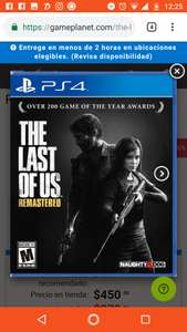 Game Planet: The last of us remastered PS4