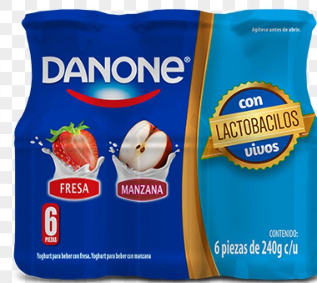 Soriana Guayabal Villahermosa: Yogurth bebible Danone six pack