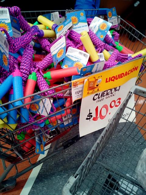 Walmart: Cuerda para saltar $10.01