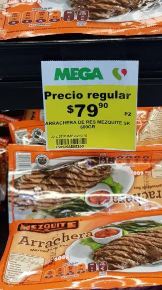 Soriana: 600gr de Arrachera en $79.90