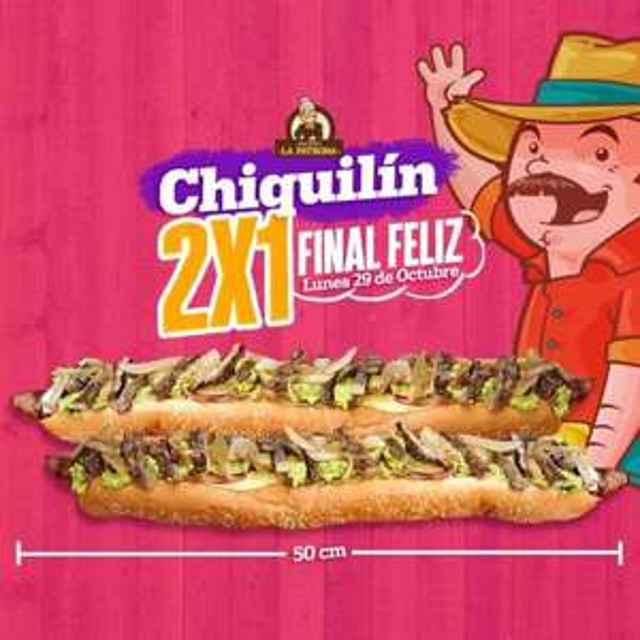 La Patrona Veracruz: 2 x 1 en Chiquilines