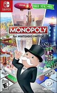 Amazon México: Monopoly Nintendo Switch