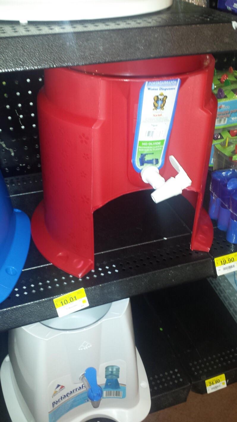 Walmart: portagarrafón a $10.01