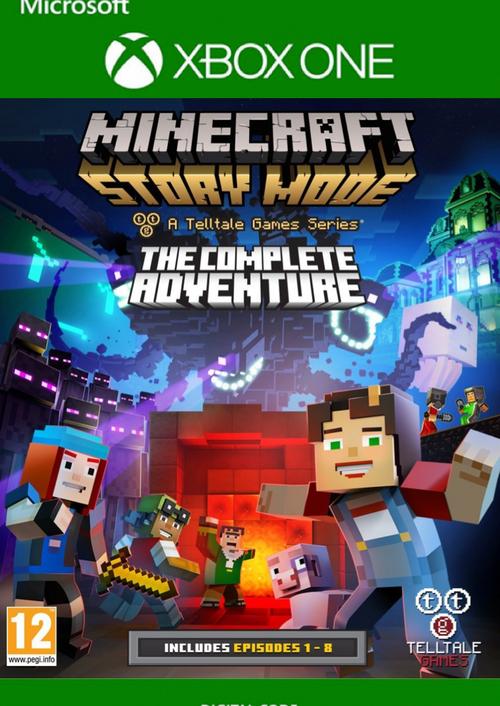 CdKeys: Minecraft Story Mode complete - Xbox One