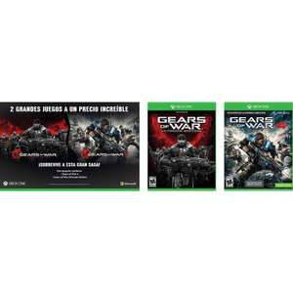 Elektra: Paquete Gears of War Ultimate Edition + Gears of War 4