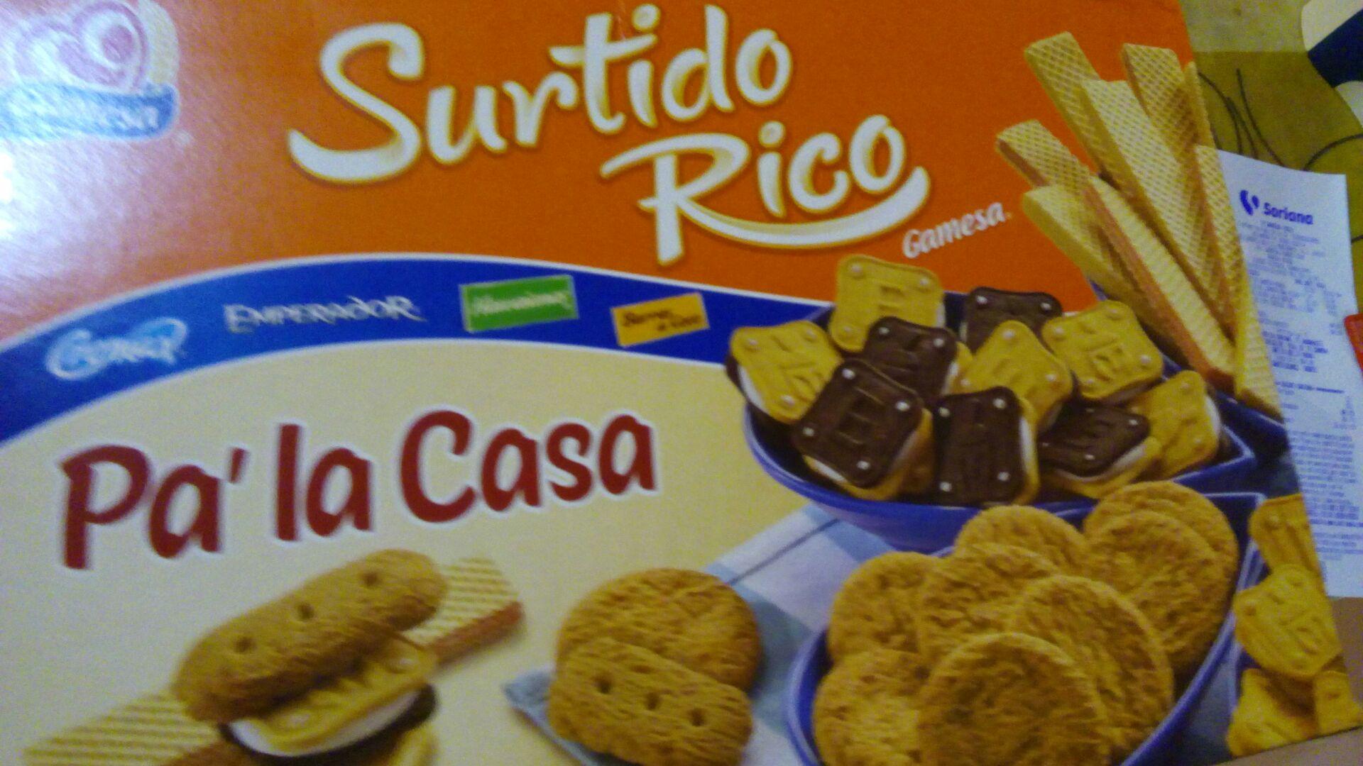 Soriana: Surtido Rico Gamesa la segunda a mitad de precio