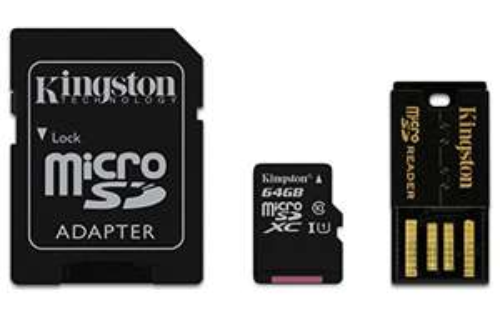 Amazon: Kingston MBLY10G2/64GB Micro SDXC