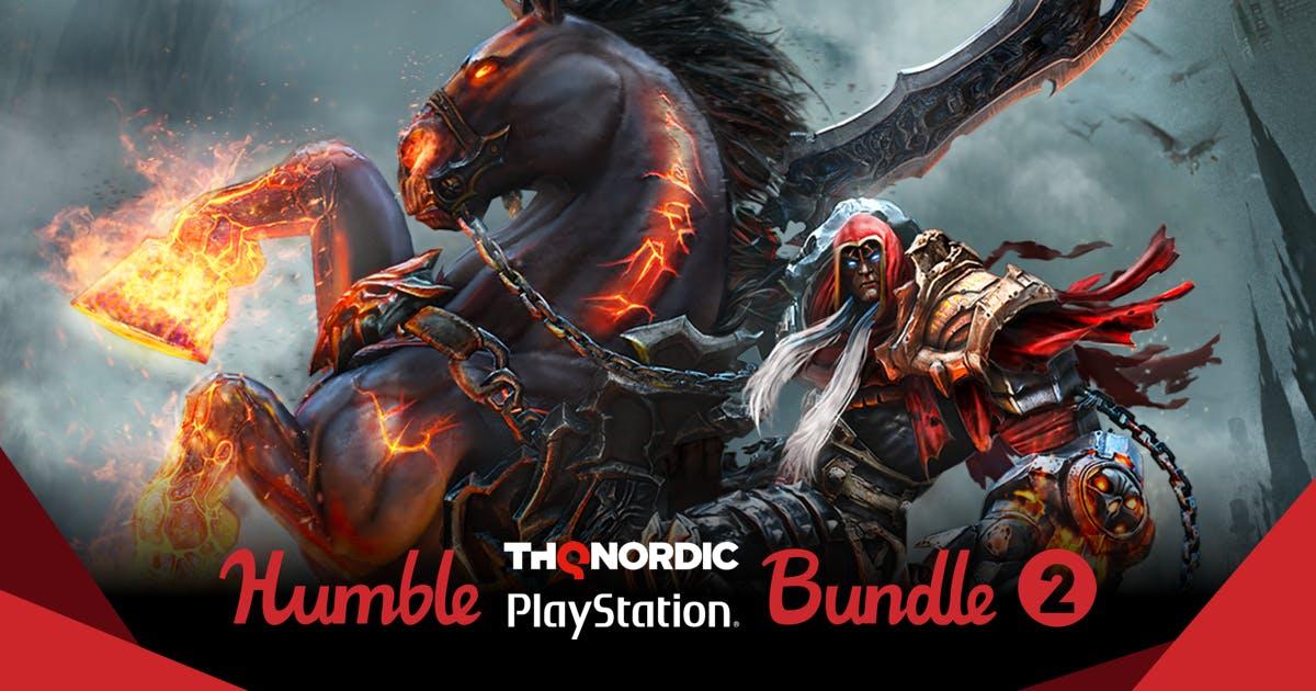 Humblebundle THQ Nordic para Playstation (ps4), desde $1 dólar