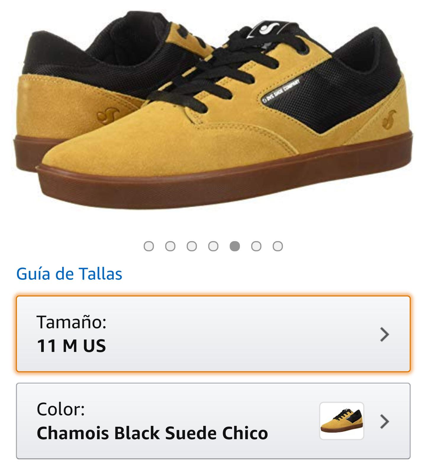 Amazon: tenis DVS 9mx