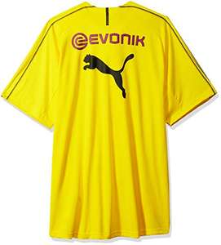 AMAZON: Puma BVB - Playera de Entrenamiento para Hombre con Logotipo de patrocinador TALLA M