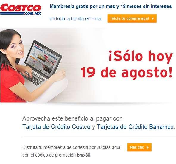 Costco: membresía de 30 días gratis