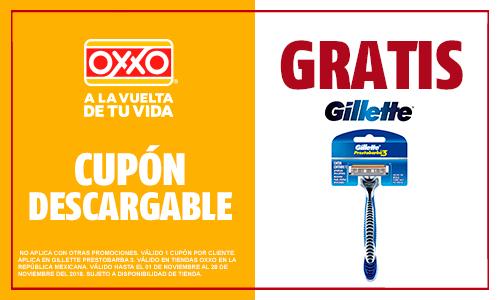 OXXO: Rastrillo Gillette