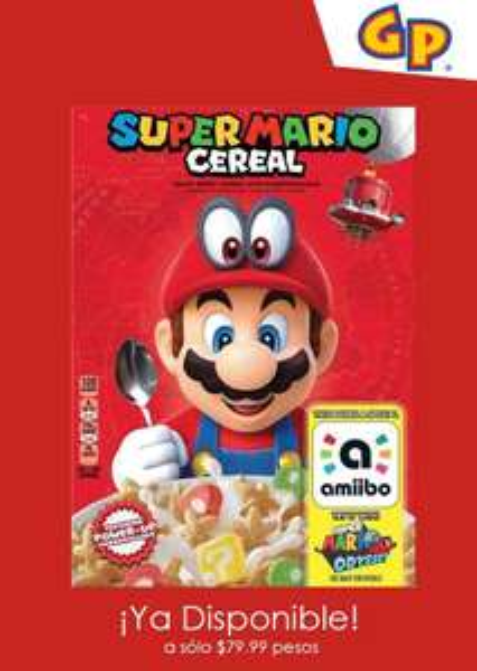 Game Planet: Cereal super Mario