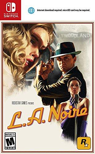 Amazon USA: L.A. Noire para Nintendo Switch